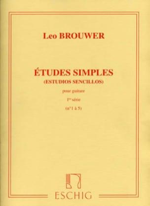 Leo Brouwer - Single Studies - 1st Series - Partition - di-arezzo.com