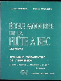 Ecole Moderne de la Flûte à Bec Soprano Volume 2 laflutedepan