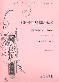 Danses Hongroises Volume 1 - BRAHMS - Partition - laflutedepan.com