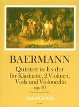 Quintett in Es-Dur op. 19 -Partitur + Stimmen laflutedepan