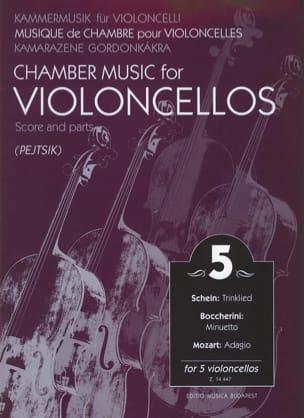 Chamber music for violoncellos - Volume 5 - Score + Parts laflutedepan