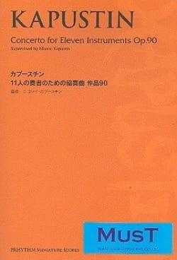 Concerto For Eleven Instruments Opus 90 Nikolai Kapustin laflutedepan