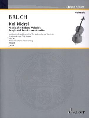 Kol Nidrei Op. 47 en Ré Min. BRUCH Partition laflutedepan