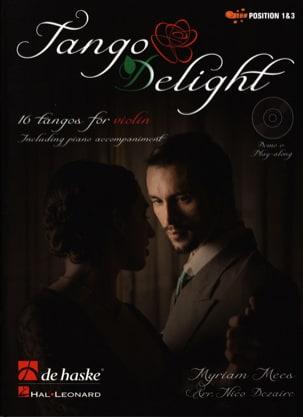 Tango Delight 803452067146 Partition Violon - laflutedepan