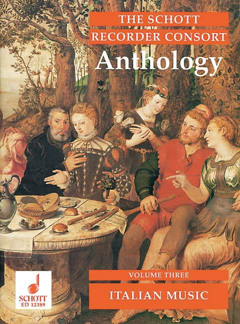 The Schott Recorder Consort Anthology, Bd 3 - laflutedepan.com