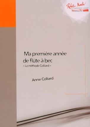 La méthode Colliard - flûte à bec Annie Colliard laflutedepan