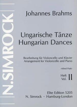 Danses hongroises, Volume 2 BRAHMS Partition laflutedepan