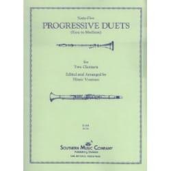 Sixty-five progressive duets Partition Clarinette - laflutedepan