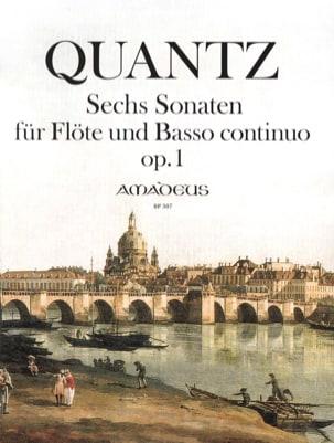 Six sonates op. 1 QUANTZ Partition Flûte traversière - laflutedepan