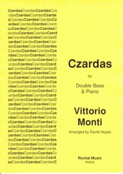 Czardas - Contrebasse et piano Vittorio Monti Partition laflutedepan