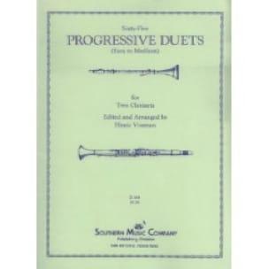 Sixty-five progressive duets - Partition - laflutedepan.com