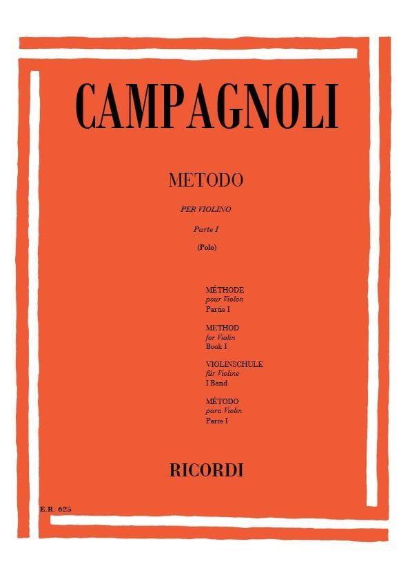 Metodo - Parte 1 - Bartolomeo Campagnoli - laflutedepan.com