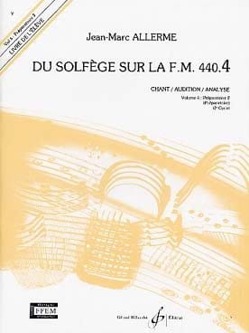 du Solfège sur la FM 440.4 - Chant Audition Analyse laflutedepan