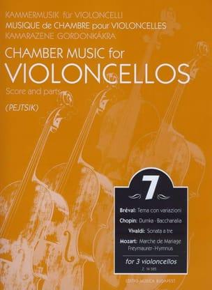 Chamber music for violoncellos -Volume 7 - Score + Parts laflutedepan