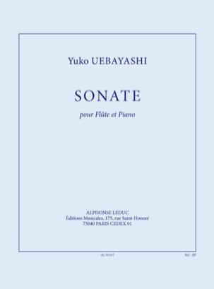Sonate pour Flûte et Piano Yuko Uebayashi Partition laflutedepan
