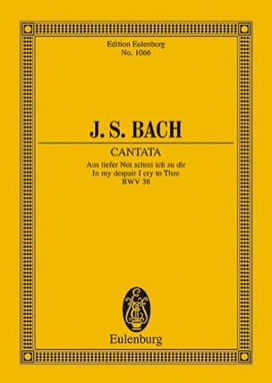 Cantate Aus Tiefer Not Schrei Ich Zu Dir BWV 38 - laflutedepan.com
