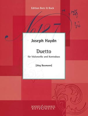 Duetto HAYDN Partition 0 - laflutedepan