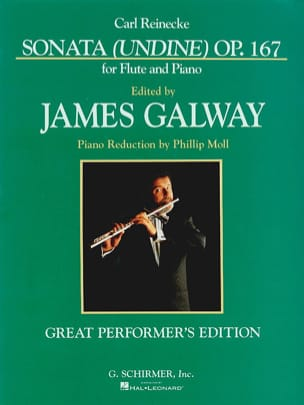 Sonata Undine op. 167 Galway Carl Reinecke Partition laflutedepan