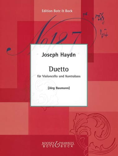 Duetto - HAYDN - Partition - 0 - laflutedepan.com