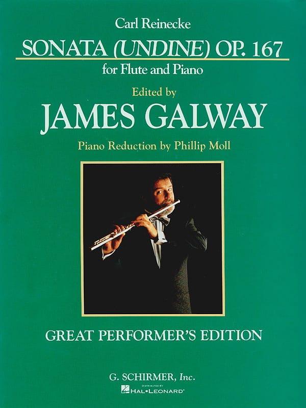Sonata Undine op. 167 Galway - Carl Reinecke - laflutedepan.com