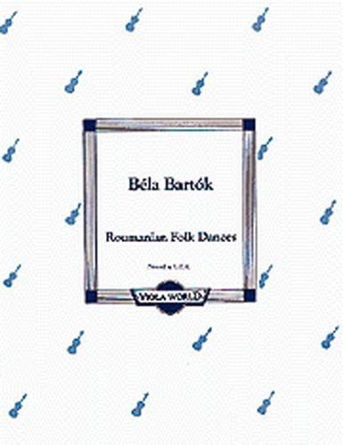 Danses Roumaines - BARTOK - Partition - Alto - laflutedepan.com