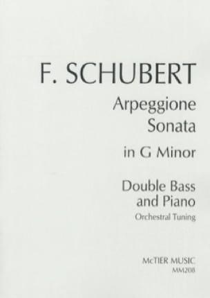 Sonate Arpeggione - SCHUBERT - Partition - laflutedepan.com