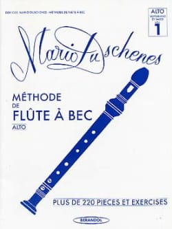 Méthode de Flûte à Bec Alto Volume 1 Mario Duschenes laflutedepan