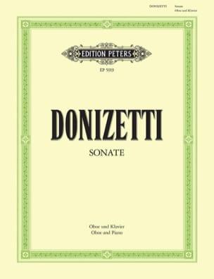 Sonate pour hautbois et piano DONIZETTI Partition laflutedepan