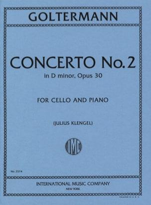 Concerto n° 2 ré mineur op. 30 Georg Goltermann Partition laflutedepan