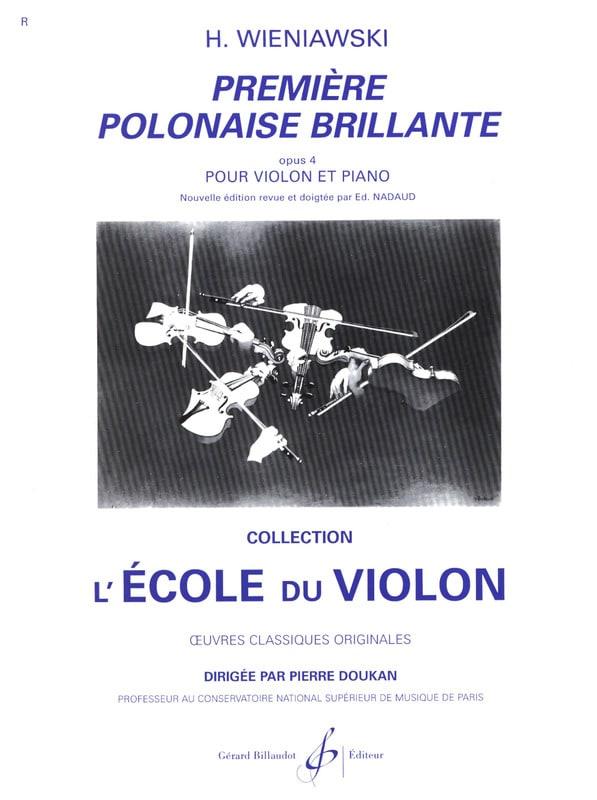 Première Polonaise brillante op. 4 - WIENAWSKI - laflutedepan.com