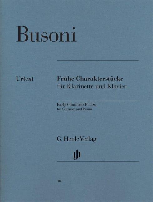Pièces de caractère de jeunesse pour clarinette et piano première édition - laflutedepan.com