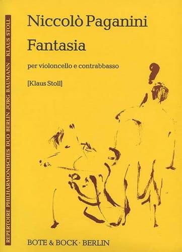Fantasia - cello e contrebasso - PAGANINI - laflutedepan.com