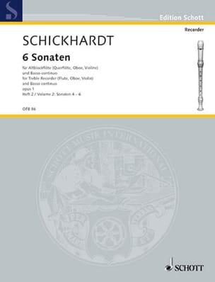 6 Sonaten op. 1 - Bd 2 Nr. 4-6 laflutedepan