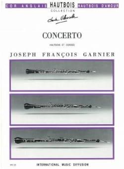 Concerto pour Hautbois Joseph-François Garnier Partition laflutedepan