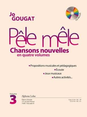 Pêle Mêle - Chansons Nouvelles Volume 3 Jo Gougat laflutedepan