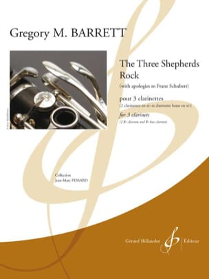 The three sheperds Rock Gregory M. Barrett Partition laflutedepan