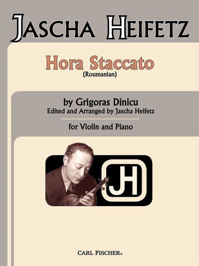 Hora Staccato - Violin piano - laflutedepan.com