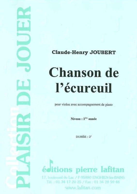 Chanson de l'écureuil - Claude-Henry Joubert - laflutedepan.com