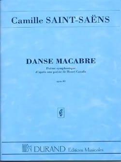 Danse macabre op. 40 - Conducteur SAINT-SAËNS Partition laflutedepan