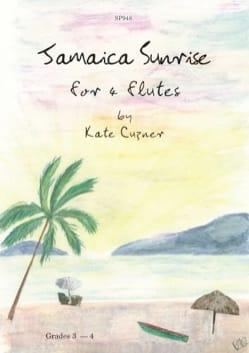 Jamaica Sunrise Kate Cuzner Partition Flûte traversière - laflutedepan