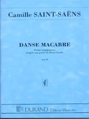 Danse macabre op. 40 - Conducteur - SAINT-SAËNS - laflutedepan.com
