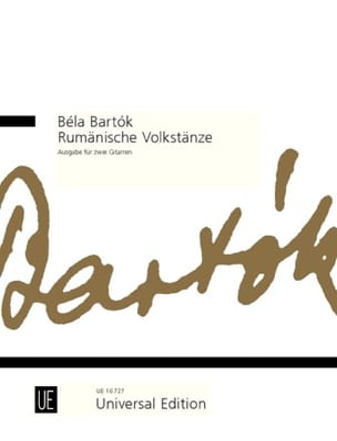 Rumänische Volkstänze BARTOK Partition Guitare - laflutedepan
