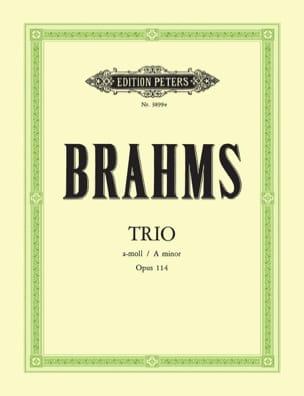 Trio in a-moll op. 114 -Klavier Klarinette Violoncello laflutedepan