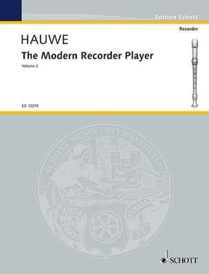 The modern recorder player - Volume 2 Walter van Hauwe laflutedepan