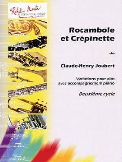 Rocambole et Crépinette Claude-Henry Joubert Partition laflutedepan