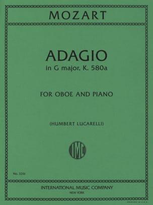 MOZART - Adagio, Kv 580a - Partition - di-arezzo.com