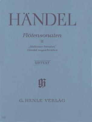 Sonates pour flûte volume 2 - Hallenser Sonaten - laflutedepan.com
