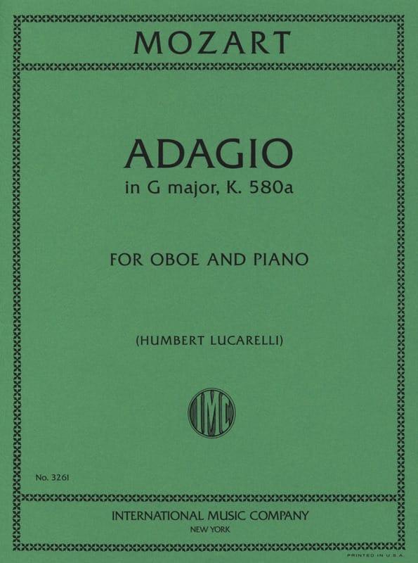 Adagio, Kv 580a - MOZART - Partition - Hautbois - laflutedepan.com