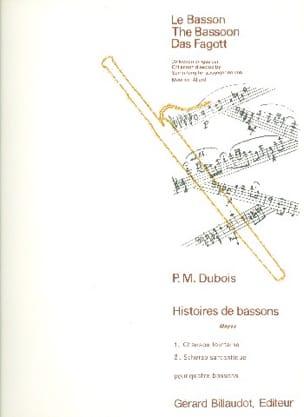 Histoires de Bassons Vol 3 -moyen Pierre-Max Dubois laflutedepan