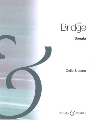 Sonata Frank Bridge Partition Violoncelle - laflutedepan